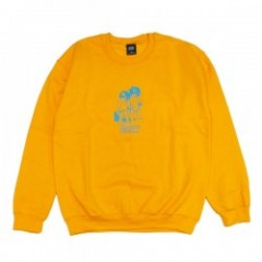 "OBEY クルースウェット ""CURIOUS KIDDO'S CREWNECK"" (Gold)"