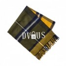 "Deviluse ストール ""PADLOCK STOLE"" (Yellow Check)"