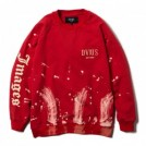 "Deviluse クルースウェット ""BLEACH CREWNECK SWEAT"" (Red)"