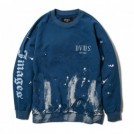 "Deviluse クルースウェット ""BLEACH CREWNECK SWEAT"" (Blue)"