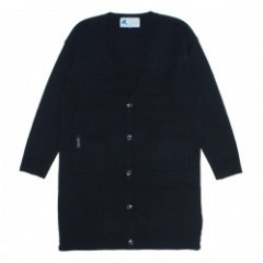 "Deviluse ロングカーディガン ""D.V.U.S LONG CARDIGAN"" (Black)"