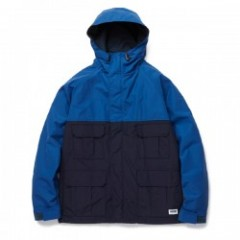 "RADIALL ジャケット ""RED WOOD MOUNTAIN PARKA"" (Blue)"