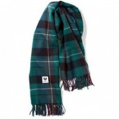 "Deviluse ストール ""CHECK STOLE"" (Green)"