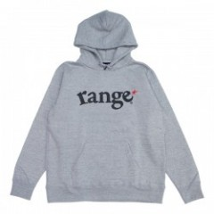 "range パーカ ""SUPER HEAVY WEIGHT 12.4oz HOODY"" (Gray)"