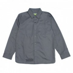 "seedleSs L/Sシャツ ""SD x SHIN CLEAN SHIRTS"" (Charcoal"