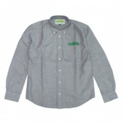 "seedleSs L/Sシャツ ""OX B.D SHIRTS"" (Denim Gray)"