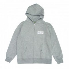 "seedleSs ジップパーカ ""NEW BOX LOGO ZIP HOODY"" (H.Gray)"