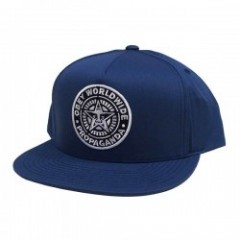 "OBEY キャップ ""CLASSIC PATCH SNAPBACK CAP"" (F.Navy)"
