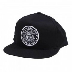 "OBEY キャップ ""CLASSIC PATCH SNAPBACK CAP"" (Black)"