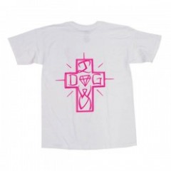 "Diamond Supply Co.×DOGTOWN ""DIAMOND DOG TEE"" White"