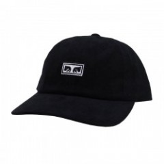 "OBEY ""SUBVERSION 6 PANEL SNAPBACK CAP"" (Black)"