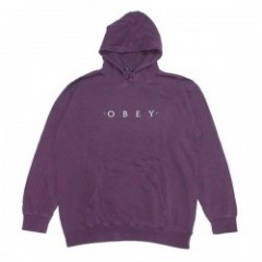"OBEY パーカ ""NOVEL OBEY PULLOVER HOOD"" (Dusty Eggplan"
