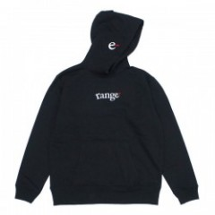 "range パーカ ""RG EMB HOODY SWEAT"" (Black)"