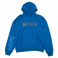 "Deviluse パーカ ""DVUS DROP SHOULDER PULLOVER HOODED"" (Blue)"