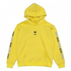 "Deviluse パーカ ""HEARTACHES PULLOVER HOODED"" (Yellow)"