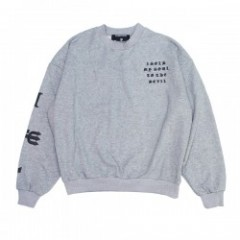 "Deviluse ""SOLD MY SOUL DROP SHOULDER"" (Gray)"