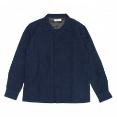 "★40%OFF★ RADIALL L/Sシャツ ""SWASTICA SHIRT"" (Navy)"