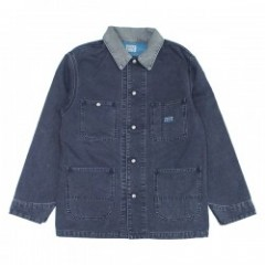 "★30%OFF★ RADIALL ジャケット ""T.N. COVERALL DUCK"" (Navy)"