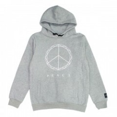 "Deviluse パーカ ""PEACE PULLOVER HOODED"" (Gray)"
