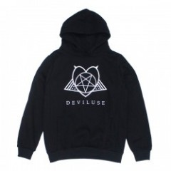 "Deviluse パーカ ""SATANISM PULLOVER HOODED"" (Black)"