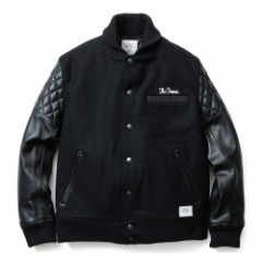 "CRIMIE スタジャン ""MIKE 2"" (Black)"