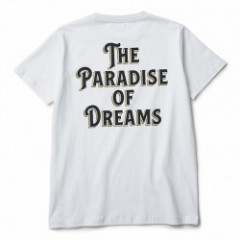 "CRIMIE Tシャツ ""PARADISE POCKET T-SHIRT"" (White)"
