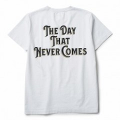 "CRIMIE Tシャツ ""THE DAY POCKET T-SHIRT"" (White)"