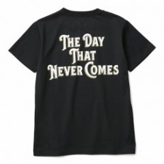 "CRIMIE Tシャツ ""THE DAY POCKET T-SHIRT"" (Black)"