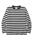 "CRIMIE 2パックL/STシャツ ""2P-PACK BORDER LONG T-SHIRT"" (Black/White)"