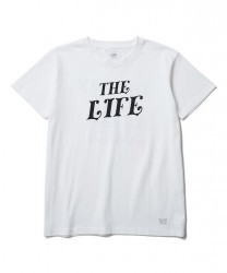 "CRIMIE Tシャツ ""THE LIFE T-SHIRT"" (White)"