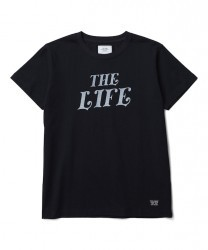 "CRIMIE Tシャツ ""THE LIFE T-SHIRT"" (Black)"