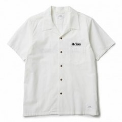 "★30%OFF★ CRIMIE S/Sシャツ ""VINTAGE OPEN S/S SHIRT"" (White)"