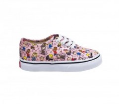 "【KIDS】VANS ""AUTHENTIC"" (PEANUTS) Dance Party/Pink"