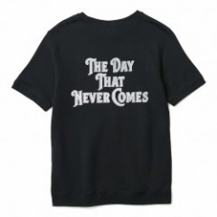 "CRIMIE 半袖スウェット ""VINTAGE  THE DAY SHORT SLEEVE SWEAT"" (Black)"