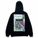 "AFFECTER パーカ ""BURN OUT HOODIE"" (Black)"