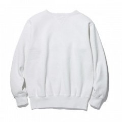 "RADIALL クルースウェット ""NOVA CREW NECK SWEATSHIRT L/S"" (Snow White)"