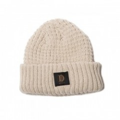 "Deviluse ビーニー ""D ROLL BEANIE"" (Beige)"