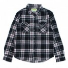 "seedleSs L/Sシャツ ""SD RAISED CHECK NEL SHIRTS"" (Black/Red)"