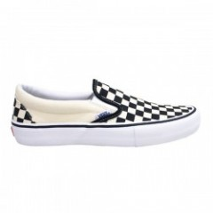 "VANS ""SLIP-ON PRO"" (CHECKERBOARD) Black/White"