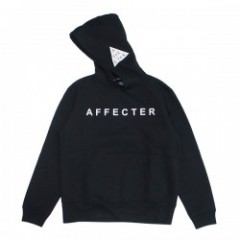 "★30%OFF★AFFECTER パーカ ""CLASSIC LOGO HOODIE"" (Black)"