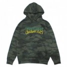 "CREATURE パーカ ""LOGO OUTLINE PULLOVER HOOD"" (Forest Camo)"