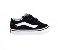 "【KIDS】VANS ""OLD SKOOL V"" (Black)"