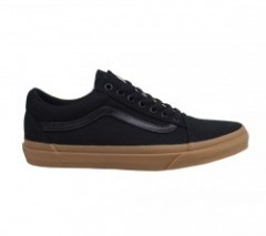 "VANS ""OLD SKOOL"" (CANVAS GUM) Black/Light Gum"