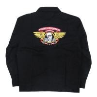 "POWELL ""WINGED RIPPER GASOLINE JACKET"" (Black)"