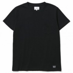 "CRIMIE ""PREMIUM CREW NECK 2-PACK POCKET TEE"" Black"