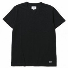 "CRIMIE ""PREMIUM V NECK POCKET 2-PACK TEE"" (Black)"