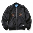 "CRIMIE ジャケット ""REVERSIBLE SOUVENIR JACKET"" (Black)"