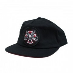 "INDEPENDENT キャップ ""THRASHER PENTAGRAM CROSS SNAPBACK CAP"" (Black)"
