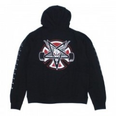 "INDEPENDENT パーカ ""THRASHER PENTAGRAM CROSS PULLOVER HOOD"" (Black)"
