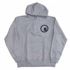 "seedleSs ""COOP BACK PRINT PULL OVER HOODY"" H.Grey"